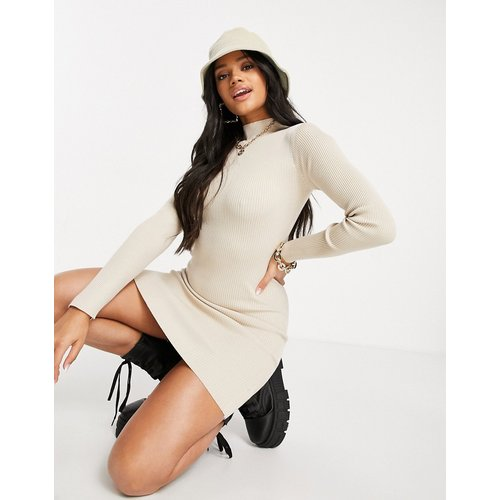Robe courte en maille - Missguided - Modalova