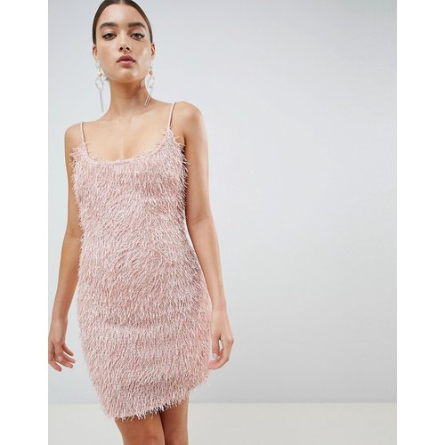 Robe moulante à franges - Missguided - Modalova
