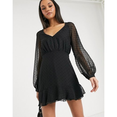Robe patineuse à manches longues - Missguided - Modalova
