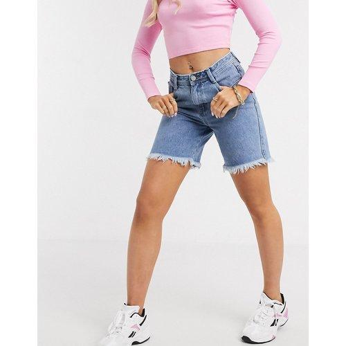 Short en jean long - Missguided - Modalova