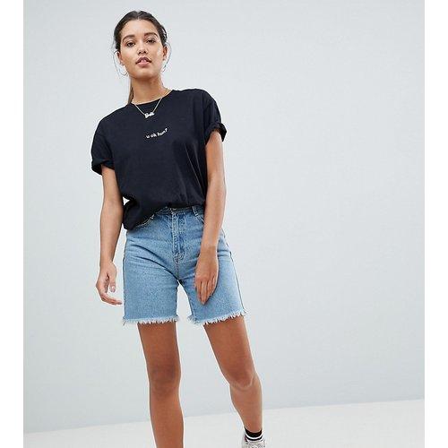 Short long en jean - Missguided - Modalova