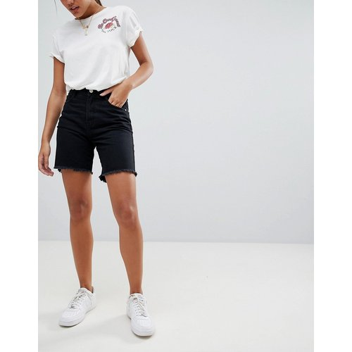 Short long en jean - Missguided - Modalova
