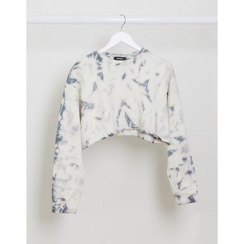 Sweat-shirt d'ensemble court oversize effet tie-dye - Missguided - Modalova
