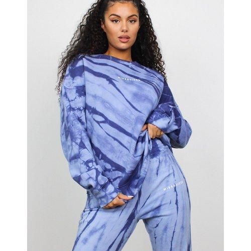 Sweat-shirt oversize imprimé effet tie-dye (ensemble) - Missguided - Modalova