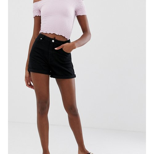 Riot - Short en jean taille haute - Missguided Tall - Modalova
