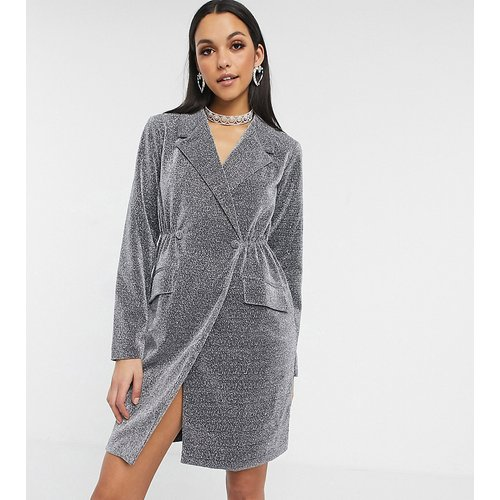 Robe à paillettes style smoking - Missguided Tall - Modalova