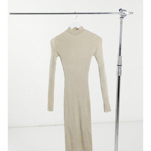 Robe mi-longue à encolure haute - Missguided Tall - Modalova