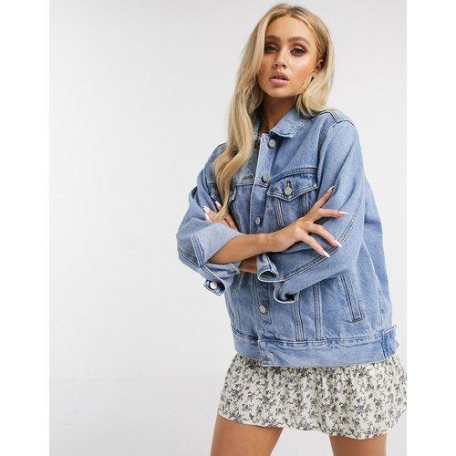 Veste oversize en jean - Missguided - Modalova