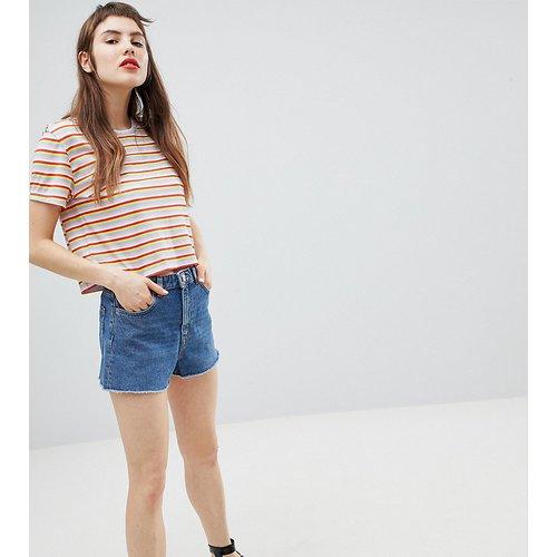 Short en jean à taille mi-haute - Monki - Modalova