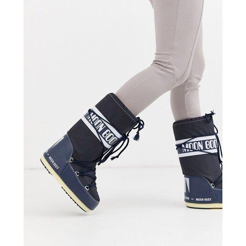 Bottes de neige emblématiques en nylon - moon boot - Modalova