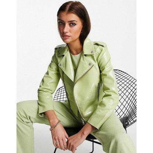 Veste courte en cuir verni - Muubaa - Modalova