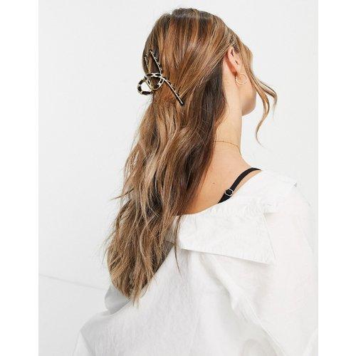London - Pince à cheveux en chaîne matelassée - My Accessories - Modalova