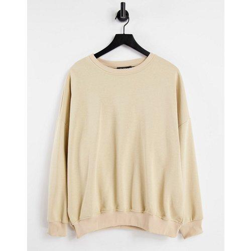 Sweat-shirt oversize - Taupe - NaaNaa - Modalova