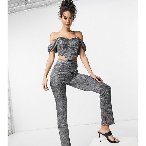 Pantalon scintillant taille haute d'ensemble - NaaNaa Tall - Modalova