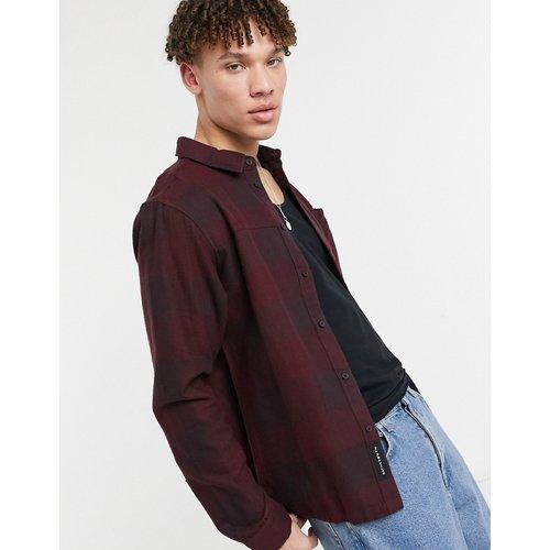 Chemise à carreaux - Bordeaux - Native Youth - Modalova