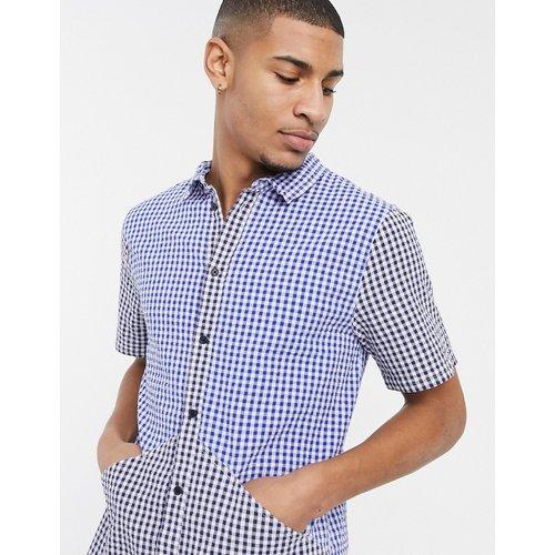 Chemise à manches courtes à carreaux Vichy variés - Native Youth - Modalova
