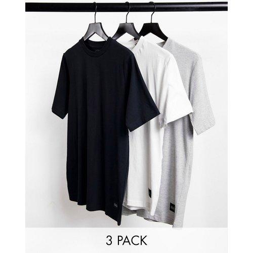 Lot de 3t-shirts en coton - Native Youth - Modalova