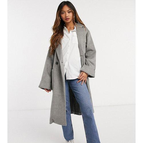 Manteau long décontracté à poches plaquées - Native Youth - Modalova