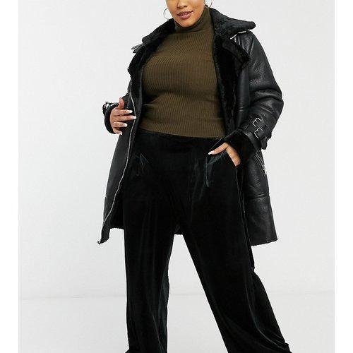 Pantalon d'ensemble large décontracté en velours - Native Youth Plus - Modalova