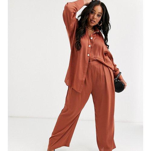 Pantalon large à taille haute (ensemble) - Native Youth Plus - Modalova