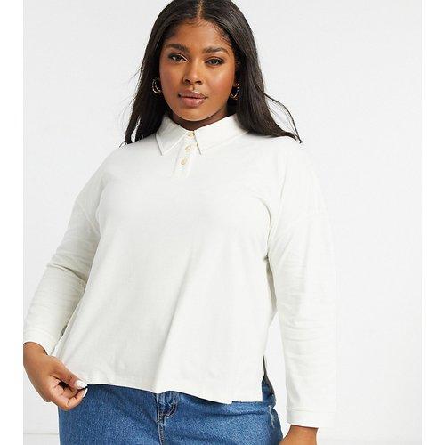Sweat-shirt boutonné côtelé - Native Youth Plus - Modalova