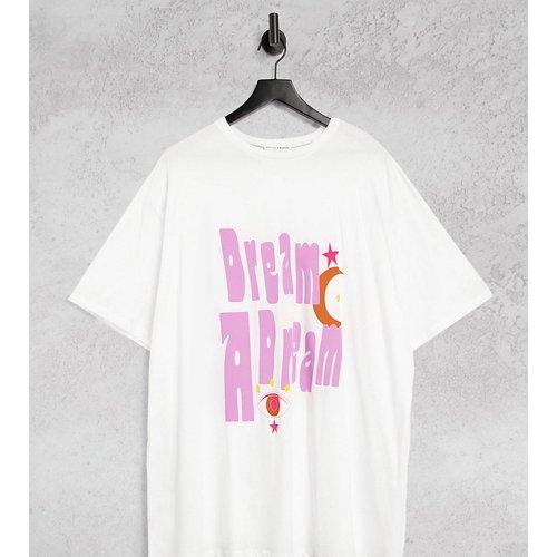 T-shirt très oversize - Imprimé dos et devant - Native Youth Plus - Modalova