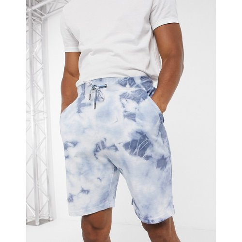 Short casual effet tie-dye - Bleu marine - Native Youth - Modalova