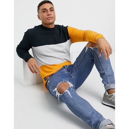 Sweat-shirt avec empiècements color block - Native Youth - Modalova