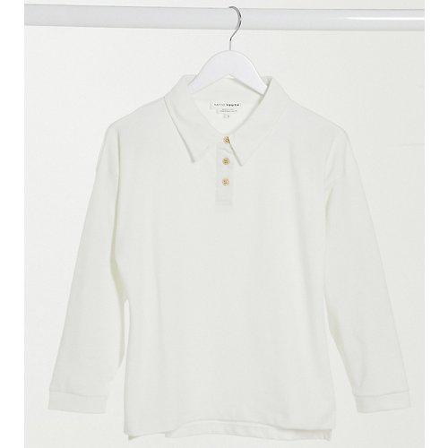 Sweat-shirt côtelé à boutons - Native Youth - Modalova