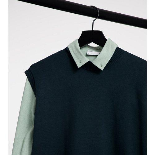 Sweat-shirt sans manches ultra oversize à col montant - Native Youth - Modalova