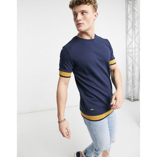 T-shirt à rayures - Bleu - Native Youth - Modalova