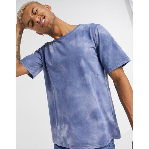 T-shirt effet tie-dye - Bleu marine - Native Youth - Modalova