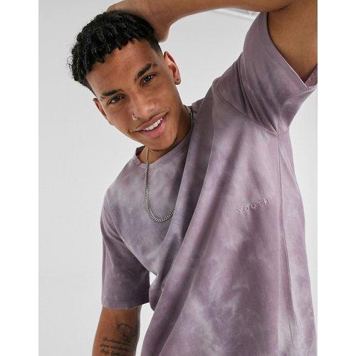 T-shirt effet tie-dye - Lilas - Native Youth - Modalova