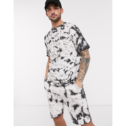 T-shirt oversize à effet tie-dye (ensemble) - Native Youth - Modalova