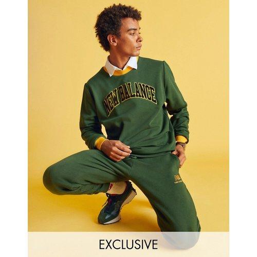 Sweat-shirt style universitaire - - Exclusivité ASOS - New Balance - Modalova