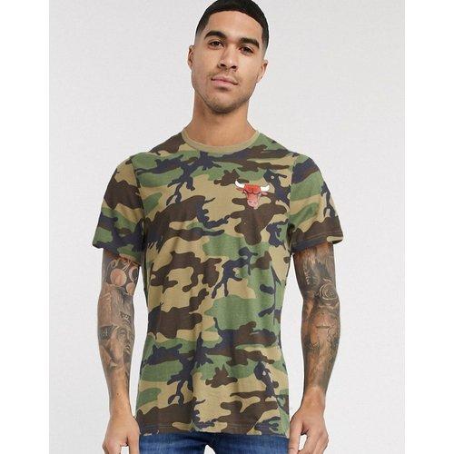 Chicago Bulls - T-shirt à imprimé au dos motif camouflage - new era - Modalova