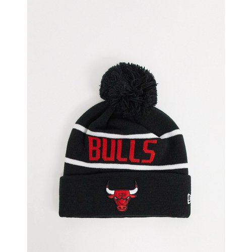NBA Chicago Bulls - Bonnet en maille à pompon - new era - Modalova