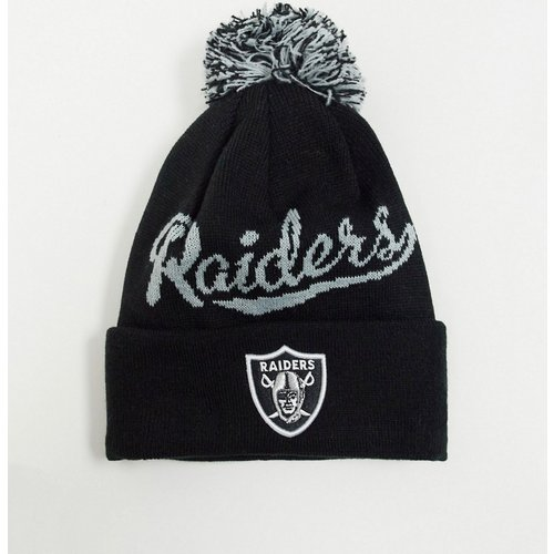 Raiders - Bonnet à pompon - new era - Modalova