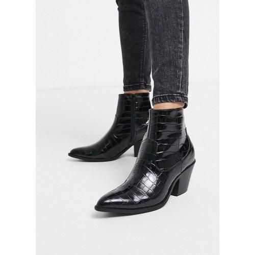 Bottes à talon style western - New Look - Modalova