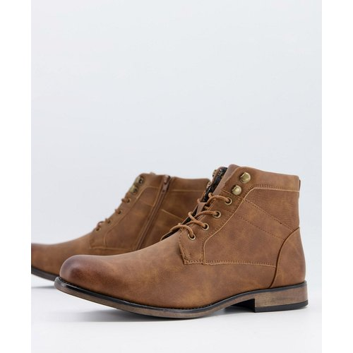 New Look - Bottines chunky - Marron - New Look - Modalova