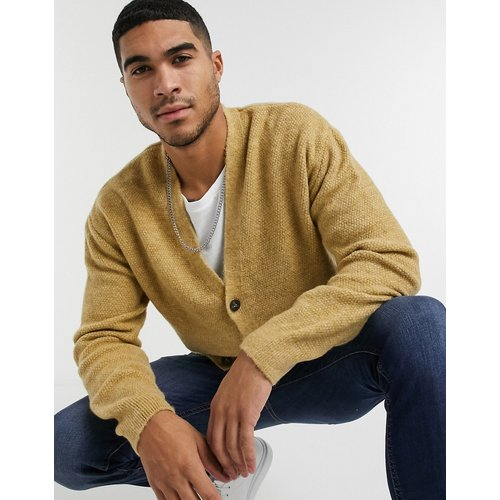New Look - Cardigan - Camel-Blanc - New Look - Modalova