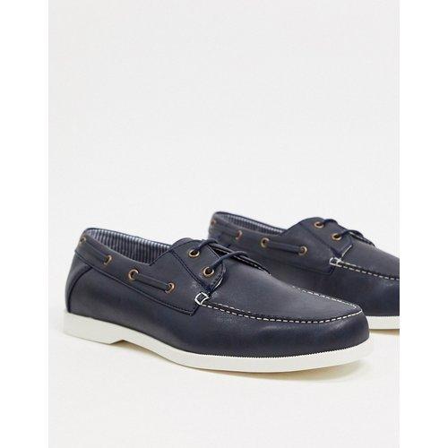 Chaussures bateau - Bleu - New Look - Modalova