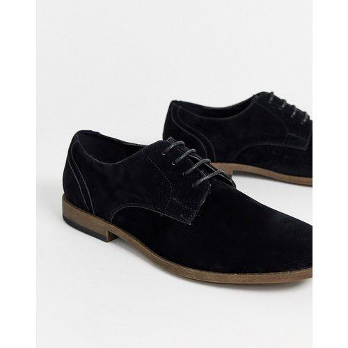 Chaussures derby imitation daim - New Look - Modalova