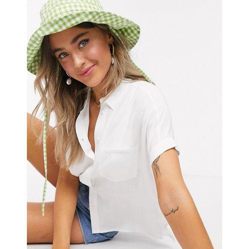 Chemise à manches courtes - cassé - New Look - Modalova