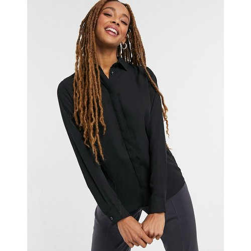Chemise boutonnée unie - New Look - Modalova
