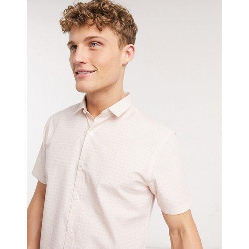 Chemise manches courtes à petites fleurs - New Look - Modalova