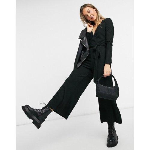Combinaison confortable en maille côtelée - New Look - Modalova
