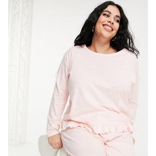 New Look Curve - Pyjama à volants - New Look Plus - Modalova