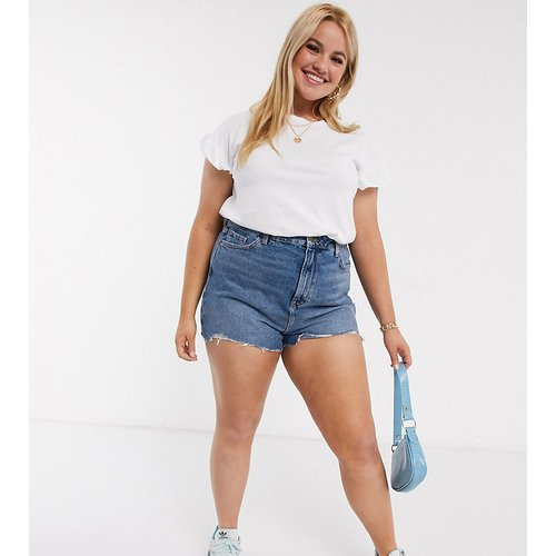 New Look Curve - Short mom en jean - moyen - New Look Plus - Modalova