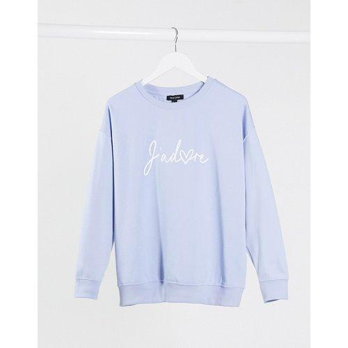 J'adore - Sweat-shirt avec inscription - New Look - Modalova